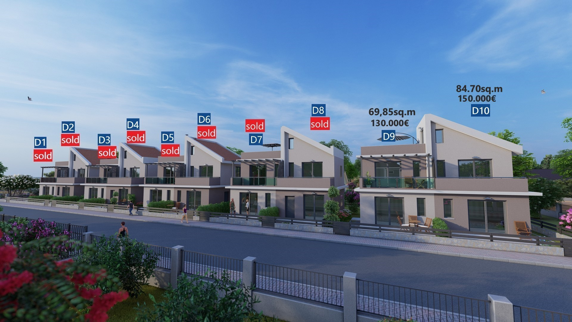 sold Dionisos new sq.m.